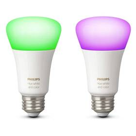 Philips Hue 10W, E27, White and Color Ambiance (2ks) (8718696729052)