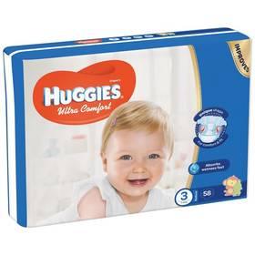 Huggies Ultra Comfort Jumbo vel. 3, 5-8kg, 58ks