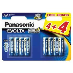 Panasonic Evolta AA, 4+4 ks (225998)