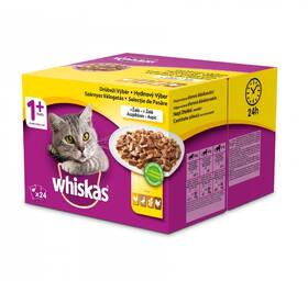 Whiskas hydinový výber v želé 24 pack 2,4 kg