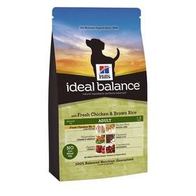 Hill's Ideal Balance Canine Adult with Fresh Chicken & Brown Rice 2 kg