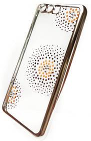 Beeyo Flower Dots pro Huawei P10 (BEAHUP10TPUFLSI) strieborný