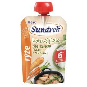 Sunárek Do ručičky Meal Pouch - Rýže s kuřecím masem a zeleninou 120g x 12ks