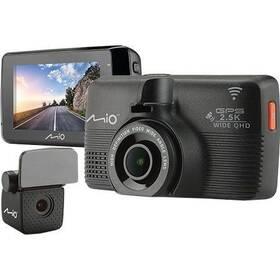 Autokamera Mio 798 Dual černá (vrácené zboží 8800276838)