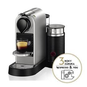 Krups Nespresso Citiz&Milk XN761B10 stříbrné
