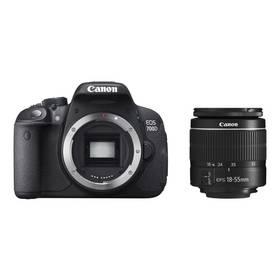 Canon EOS 700D + EF-S 18-55 DC (8596B117) černý + Doprava zdarma