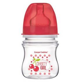 Canpol babies EasyStart Fruits 120ml červená