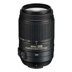 Nikon NIKKOR 55-300MM F4.5-5.6G AF-S DX VR černý + Doprava zdarma