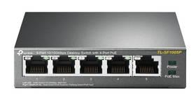 TP-Link TL-SF1005P (TL-SF1005P) šedý (vrácené zboží 8800820878)