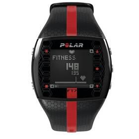 Sporttester Polar FT7 M BL černý/červený