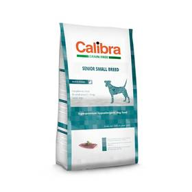 Calibra Dog Grain FreeSenior Small Breed Duck 2kg + Doprava zdarma