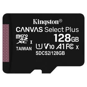 Kingston Canvas Select Plus MicroSDXC 128GB UHS-I U1 (100R/10W) (SDCS2/128GBSP)