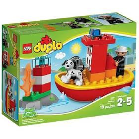 Zestawy LEGO® DUPLO Ville 10591 Łódź strażacka