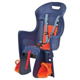 Polisport Boodie na nosič modrá/oranžová