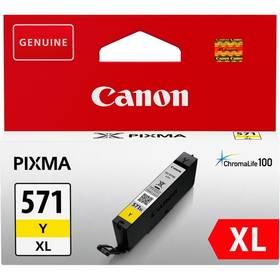 Canon CLI-571XL Y (0334C001) žlutá