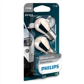 Philips SilverVision PY21W, 2ks (12496SVB2)