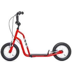 """Yedoo Basic Wzoom 12"""" červená + Reflexní sada 2 SportTeam (pásek, přívěsek, samolepky) - zelené v hodnotě 58 Kč"""