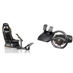 Set Herní sedačka Playseat Evolution TopGear + Volant Thrustmaster Ferrari 458 pro PC/Xbox 360 + Doprava zdarma