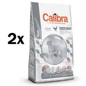 Calibra Light 2 x 15 kg + Doprava zdarma
