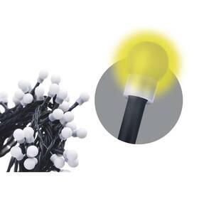 EMOS 50 LED, cherry řetěz – kuličky, 2,5m, vnitřní, teplá bílá (1534220020)