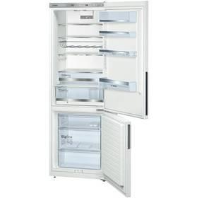 Kombinácia chladničky s mrazničkou Bosch KGE49AW41 biela