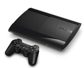 Herní konzole Sony PlayStation 3 500GB (PS719447818) černá