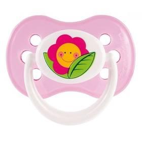 Canpol babies HAPPY GARDEN silikonové třešinka 0-6m růžové
