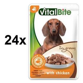Vitalbite dušené filetky kuřecí 24 x 85g