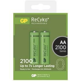 GP ReCyko+ AA, HR6, 2100mAh, Ni-MH, krabička 2ks (1032212070)