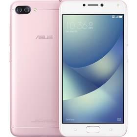 Asus ZenFone 4 Max (ZC554KL-4I040WW) (ZC554KL-4I040WW) růžový SIM s kreditem T-Mobile 200Kč Twist Online Internet (zdarma)