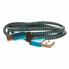 CellFish USB/USB-C, 1m (PLUSBCKABELBLUE) modrý