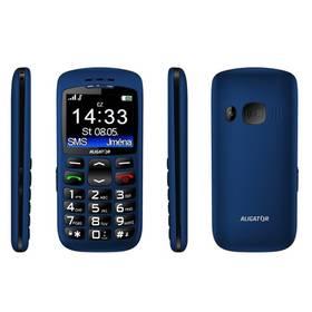 Mobilný telefón Aligator A670 Senoir (A670BE) modrý