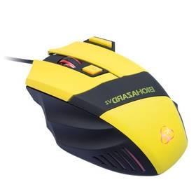 Connect IT Biohazard V2 (CI-464) žlutá