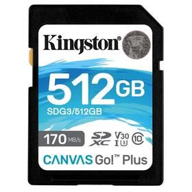 Kingston Canvas Go! Plus SDXC 512GB UHS-I U3 (170R/90W) (SDG3/512GB)