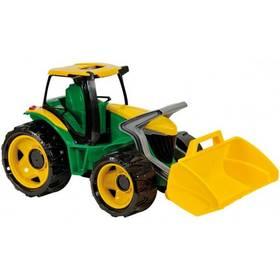 Traktor se lžíci Alltoys zeleno/žlutý
