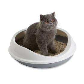 Savic Figaro kočičí 55x48,5x15,5cm šedá