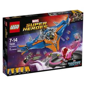 LEGO® SUPER HEROES™ 76081 Vesmírná loď Milano vs. Abilisk