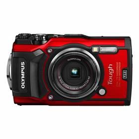 Olympus TG-5 (4545350051112) červený + Doprava zdarma