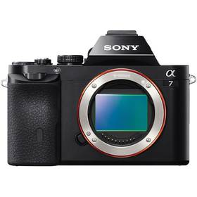 Sony Alpha A7, tělo černý