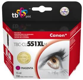 TB Canon CLI-551XL - kompatibilní (TBC-CLI551XLM) červená