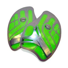 Plavecké packy Aqua Sphere Ergoflex L, zelená/šedá