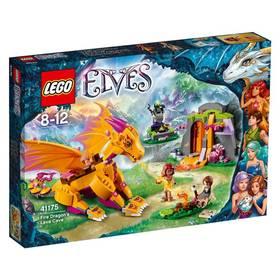 Stavebnica LEGO® Elves 41175 Lávová jeskyně ohnivého draka