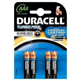 Duracell Turbo AAA, LR03, blistr 4ks