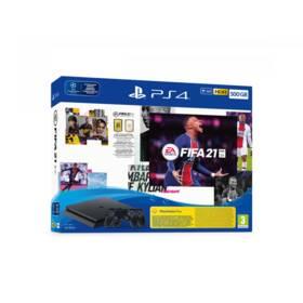 Sony PlayStation 4 500 GB + FIFA 21 + 2x ovladač (PS719831129)