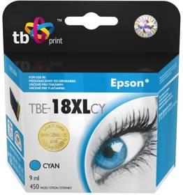 TB Epson T1812 C - kompatibilní (TBE-18XLCY) modrá