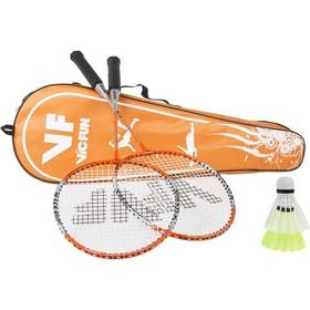 Badminton set VicFun Deluxe - B sivý/modrý