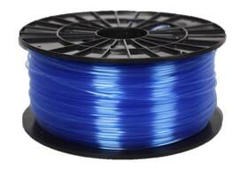 Tisková struna (filament) Plasty Mladeč 1,75 PETG, 1 kg (F175PETG_TBL) modrá/průhledná