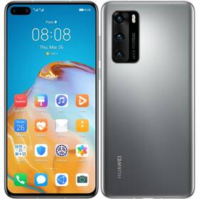 Mobilní telefon Huawei P40 (SP-P40128DSTOM) šedý