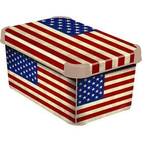 Curver Decoboxes Stockholm American Flag vel. S