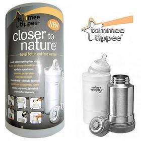 Termoska a cestovní ohřívačka lahví Tommee Tippee C2N